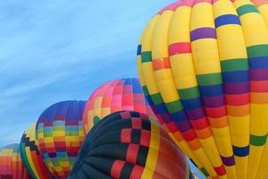 varmluftsballonger foto