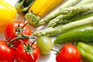 färska grönsaker foto