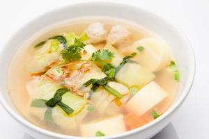 hälsosam soppa foto