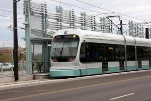 Phoenix metro light rail tåg