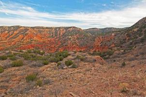 caprock canyons, texas foto