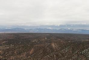 san juan bergen från los alamos new mexico foto