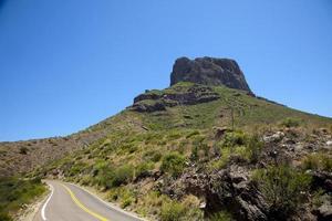 signatur bergformation i stor böj nationalpark