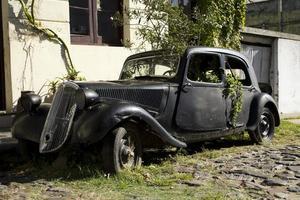 gammal bil foto