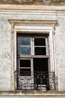 trasigt fönster foto