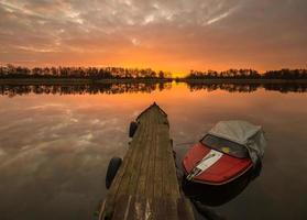 liten flodhamn foto