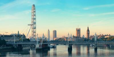 Thames River Panorama foto