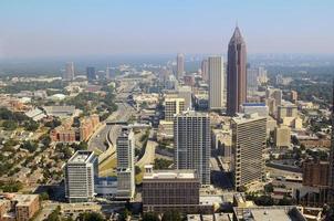 downtown stadsbilden i Atlanta foto