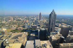 Flygfoto över Atlanta