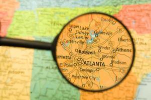 Atlanta förstorad foto