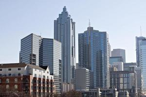 downtown Atlanta, Georgia skyline foto