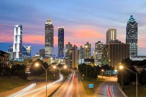 bild av Atlanta skyline foto