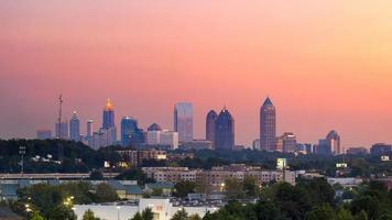Atlanta twilight foto