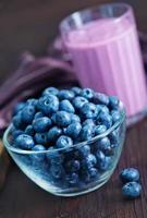yoghurt med blåbär