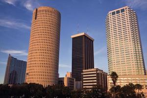 eftermiddag i centrum av Tampa foto
