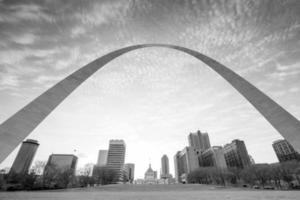 staden St. Louis horisont foto