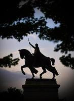 kung Louis i St. Louis, mo foto