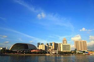 singapore skyskrapor foto