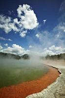 termisk sjö foto