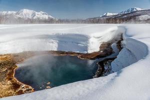 griffin ivanova, varm källa i nalichevo nationalpark foto