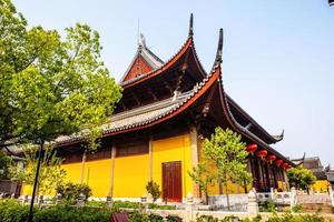 mysteriumens tempel (xuanmiao-templet) foto