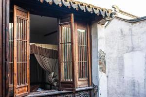 traditionellt fönster foto