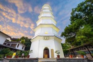 vit pagod av fuzhou foto
