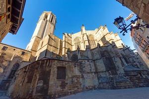 katedralen i Barcelona foto