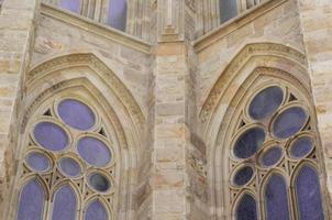 målat glasfönster foto