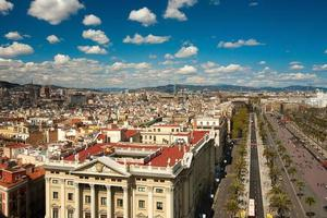 barcelona stadsbild
