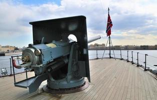 """st. Petersburg. ryssland. landmark cruiser """"aurora foto"""