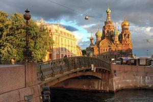 kyrka i Sankt Petersburg, Ryssland foto