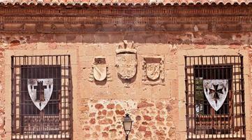gamla spanska hus foto