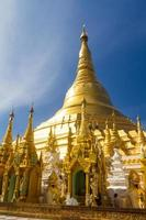 shwedagon pagod, yangon foto