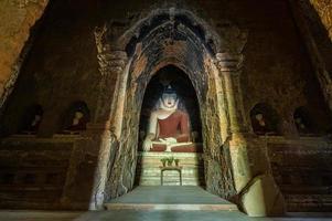 myanmar buddha staty foto