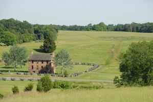 utsikt mot mathews hill på manassas foto