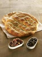 speciellt turkiskt pitabröd för ramadan foto