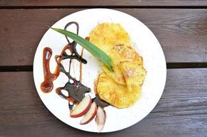 grillad ananas foto