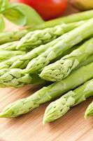 grön sparris foto