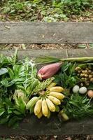 mångfaldiga asiatiska grönsaker. foto