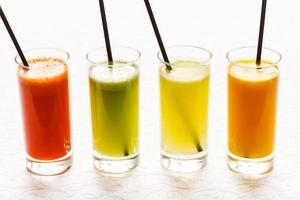 färska juice foto