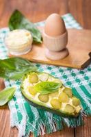 sallad i avokado