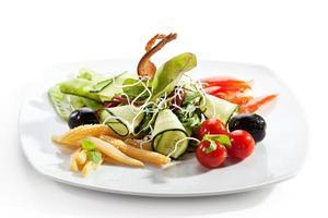 vegetarisk sallad