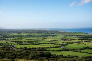 irländskt landskap foto