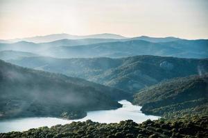 bergslandskap foto