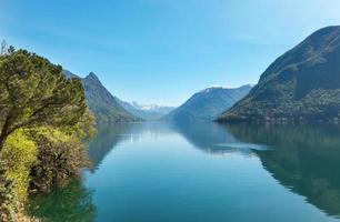 vackert landskap foto