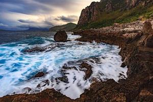 kustlandskap foto