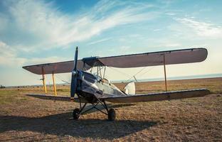 vintage flygplan foto