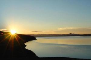 mongoliska landskapet foto