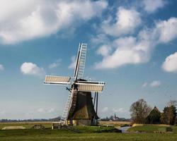 holländska landskap foto